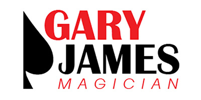 Gary James Magician Logo