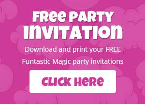 Children Party Magician Entertainment Invitation download