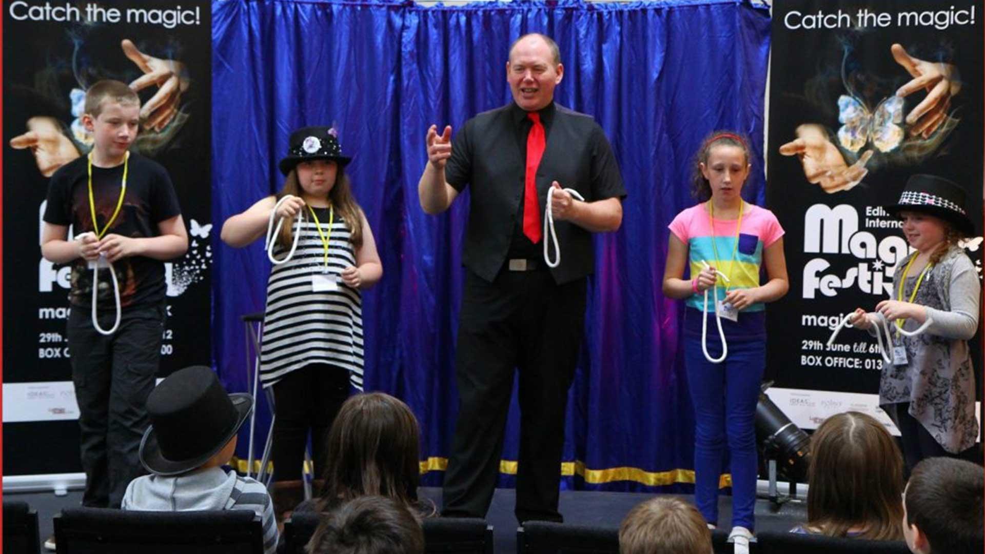 Kids Magician Edinburgh